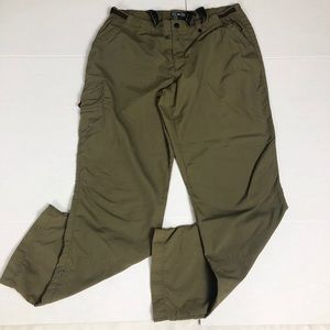 REI Women's Hiking Pants UPF 30+ size: 11 Green